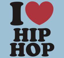 """""""I Heart Hip Hop"""" Kids Clothes"""