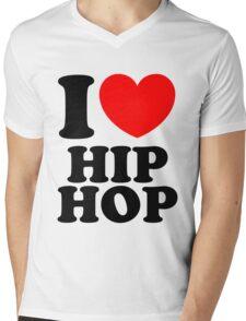 """I Heart Hip Hop"" Mens V-Neck T-Shirt"