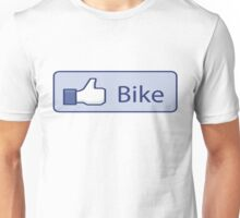 Like Bike Thumbs Up Unisex T-Shirt
