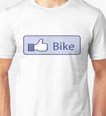 Like Bike Thumbs Up Unisex T-Shirt