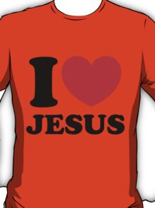 """I Heart Jesus"" T-Shirt"