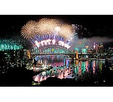 Simply The Best ! - Sydney NYE Fireworks  #4 Photographic Print