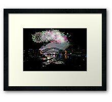Simply The Best ! - Sydney NYE Fireworks  #7 Framed Print