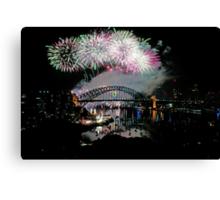 Simply The Best ! - Sydney NYE Fireworks  #7 Canvas Print