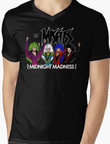 Midnight Madness Mens V-Neck T-Shirt