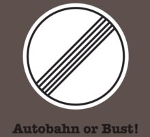 Autobahn or Bust! One Piece - Short Sleeve