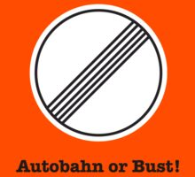Autobahn or Bust! Kids Tee