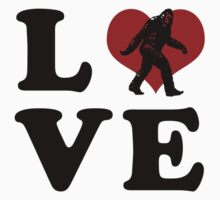 Love Bigfoot by cesstrelle