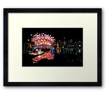 Simply The Best ! - Sydney NYE Fireworks  #6 Framed Print