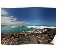 Port Fairy Rocks Poster