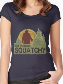 Sounds Squatchy Women's Fitted Scoop T-Shirt