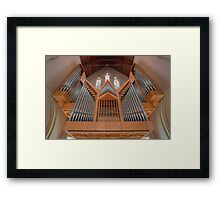 Cathedral of St Stephen Pipe Organ • Brisbane • Queensland Framed Print