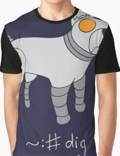Angrybot: Prompt Dog Graphic T-Shirt