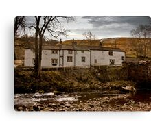 George Inn - Hubberholme Canvas Print