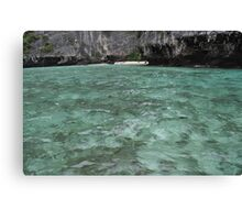 Secluded Beach Phi Phi Canvas Print