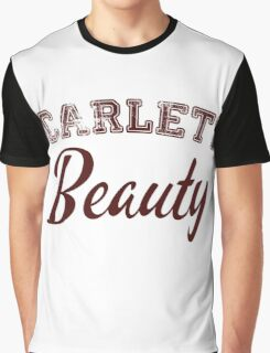 Once Upon a Time - Scarlett Beauty Graphic T-Shirt