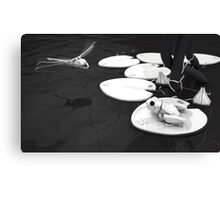 FrogBot, DragonflyBot - Hi tech nature series  (sci-fi) Canvas Print