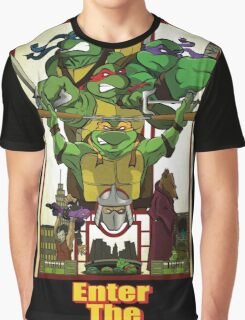 Enter the Turtles Graphic T-Shirt