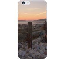 Orange Sunset Pebble Beach  iPhone Case/Skin
