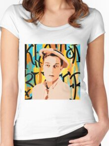 Buster Keaton 2 Women's Fitted Scoop T-Shirt