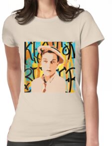 Buster Keaton 2 Womens Fitted T-Shirt