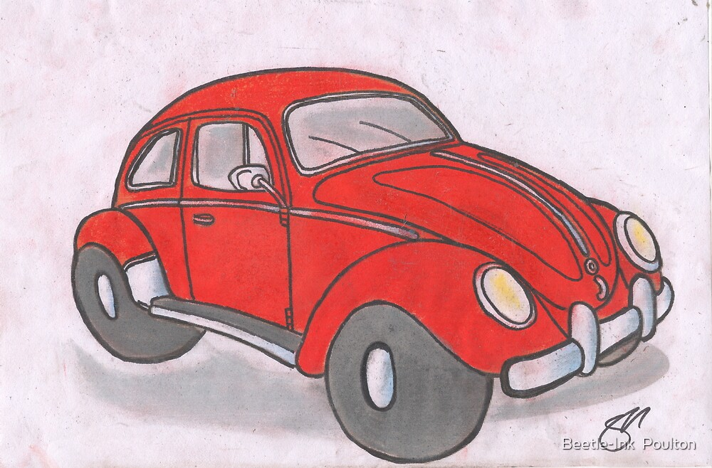 Beetle by Sharon Poulton
