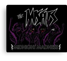 Midnight Madness - Silhouette Canvas Print