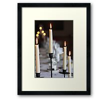 Top Table at the Wedding Framed Print