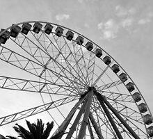 Giant Ferris Wheel by Tammy Howe
