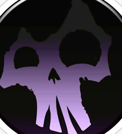 Happy Skull Swamp Sticker