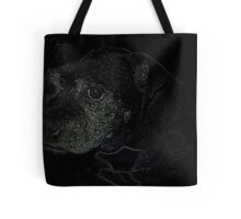 Staffordshire Bull Terrier, Portrait Tote Bag