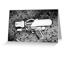 Watergun, Raygun Greeting Card