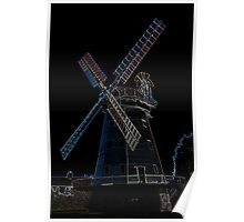 Upminster windmill Essex Poster