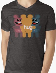 BEAR HUG 3 Mens V-Neck T-Shirt