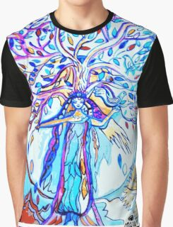 My Soul Sings to the World Graphic T-Shirt