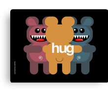BEAR HUG 3 Canvas Print
