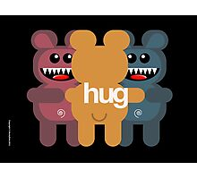 BEAR HUG 3 Photographic Print