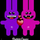 RABBIT LOVERS by peter chebatte