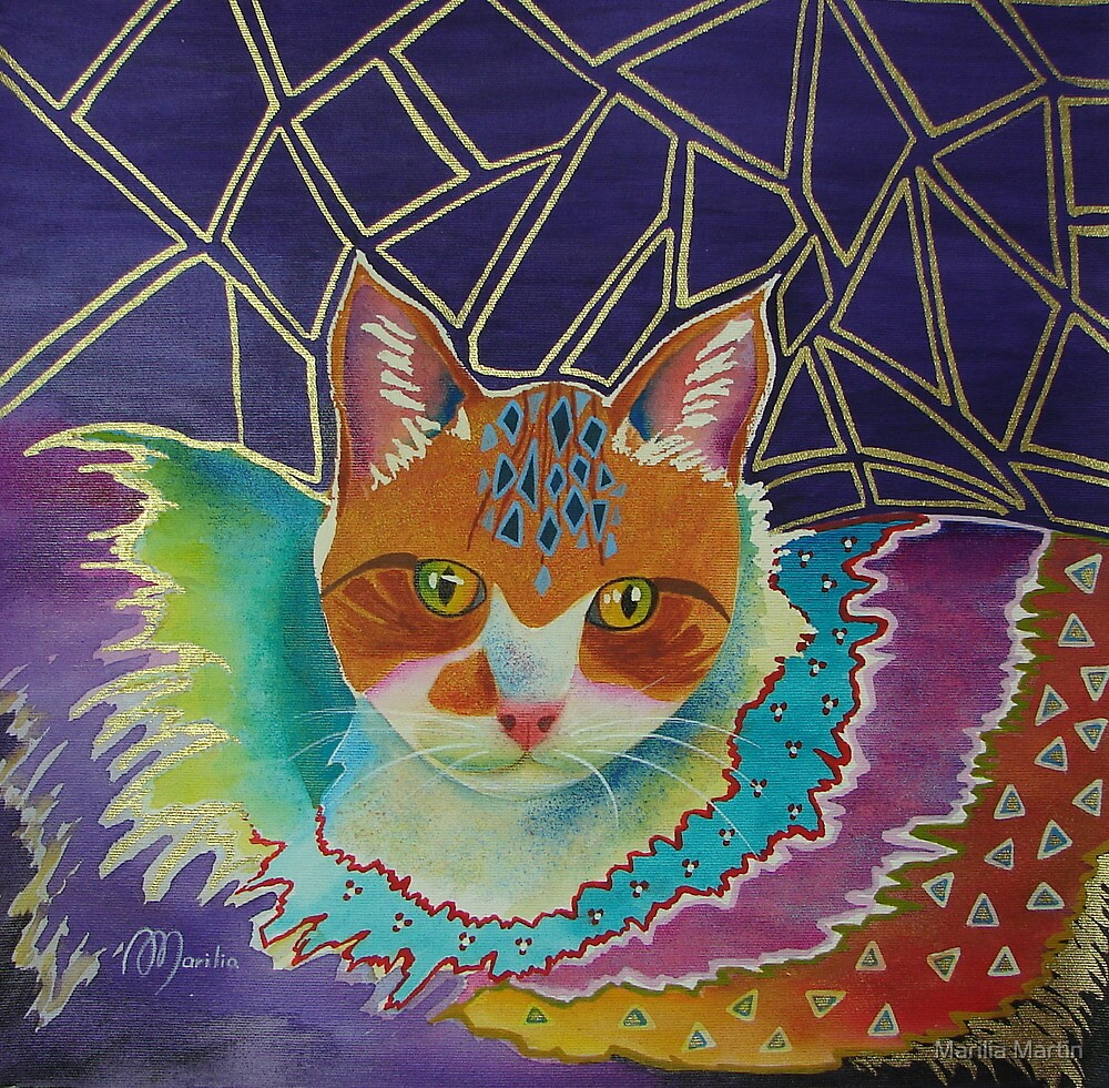 CIRCUS CAT by Marilia Martin