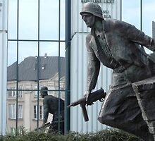 Warsaw Memorial, Poland by Sue Ballyn