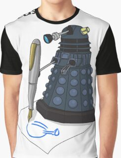 Dalek Hobbies | Dr Who Graphic T-Shirt