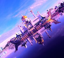 BRUNEI DARUSSALAM ~ A NEW PERSPECTIVE by NICK COBURN PHILLIPS
