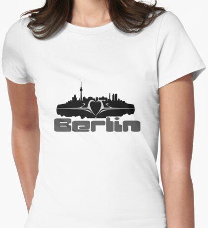 Berlin Womens Fitted T-Shirt