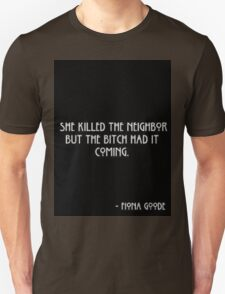 American horror story - Fiona Goode T-Shirt