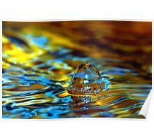 water drop 001 Poster