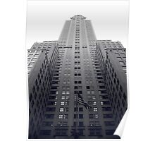 Chrysler Building Duotone Poster