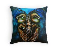 """""""Back to back"""" Throw Pillow"""