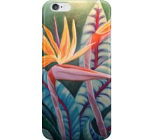 CRANE LILIES iPhone Case/Skin