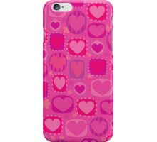 Cute Pink Hearts Pattern for iphone iPhone Case/Skin
