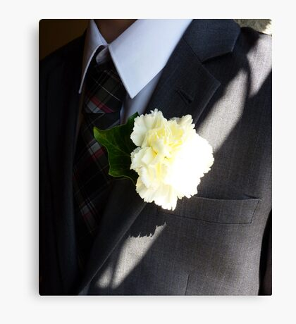 Wedding Buttonhole Canvas Print